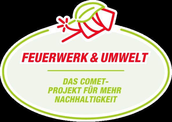 Logo Feuerwerk & Umwelt – Das comet-Projekt für mehr Nachhaltigkeit