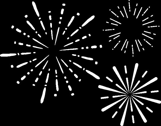 Feuerwerk Grafik