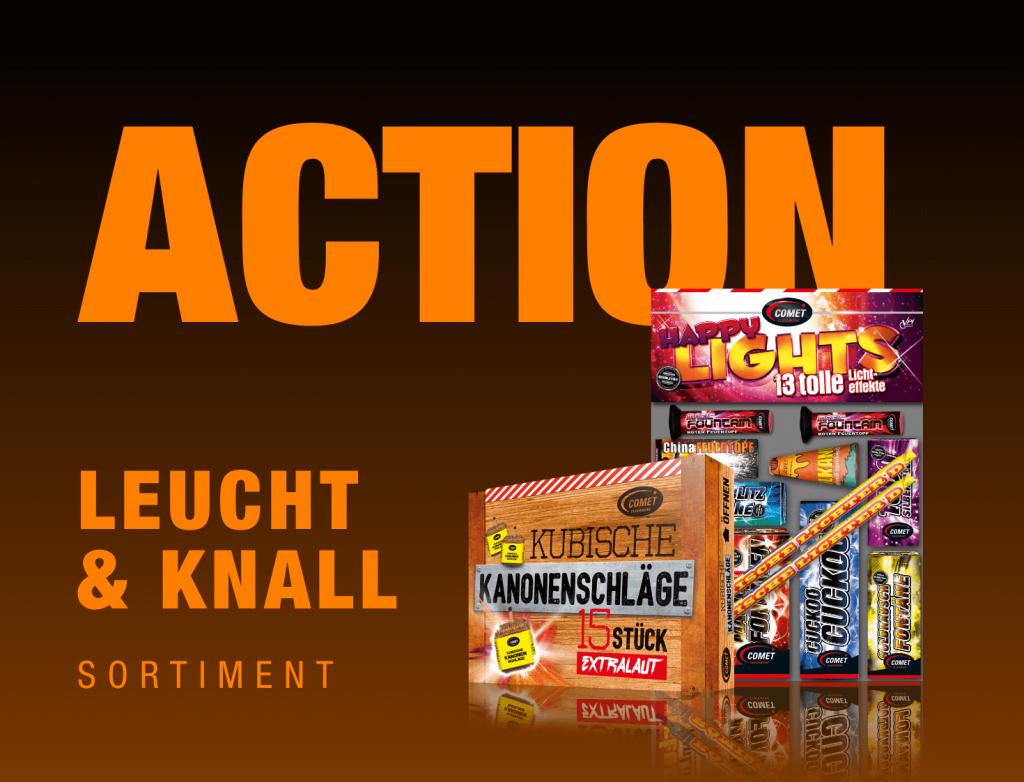 """Link zum Produktbereich """"Action Leucht und Knall"""""""